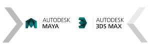 تفاوت 3d max با maya  3ds max maya